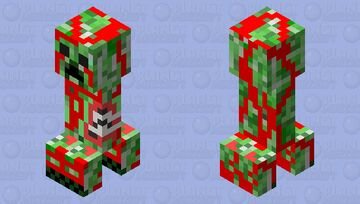 Bloody dead creepers! Minecraft Mob Skin