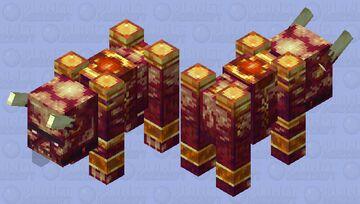 Nether Ravager Minecraft Mob Skin