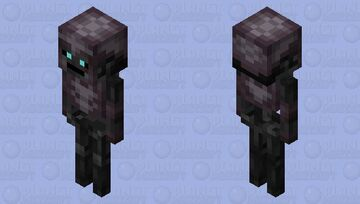 Armored Wither Skeleton Minecraft Mob Skin