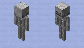 Skeleton armourstand, can be usedvanlig for statues too. Minecraft Mob Skin