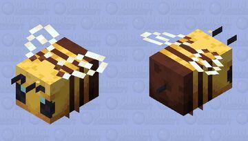 HD Enhanced Bee Minecraft Mob Skin