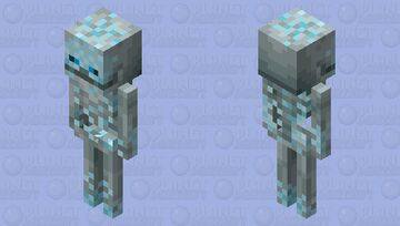 Frosty Stray Minecraft Mob Skin