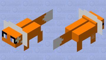 Fox-Alotol Minecraft Mob Skin