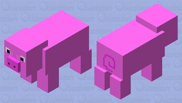 minecraft piy bubble the pig Minecraft Mob Skin