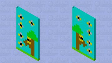 buzzy Bees Cape!!!! Minecraft Mob Skin
