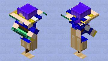 I messed up my Minecraft skin Minecraft Mob Skin