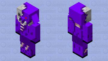 Void Zombified Piglin Minecraft Mob Skin