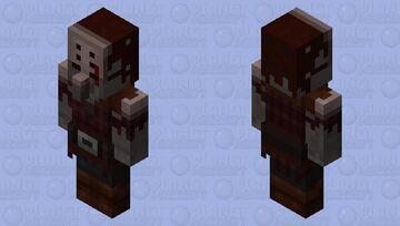 keeper Pillager (𝕱𝖔𝖗𝖇𝖎𝖉𝖉𝖊𝖓 𝕾𝖔𝖚𝖑𝖘) Minecraft Mob Skin