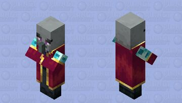 The Enchanted Illager (Retexture) (ver.3) Minecraft Mob Skin