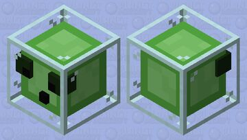 Glass slime Minecraft Mob Skin