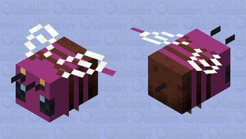 purple bee Minecraft Mob Skin