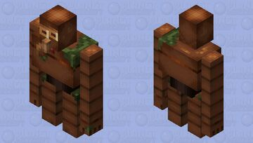 Robot from castel in the sky Minecraft Mob Skin