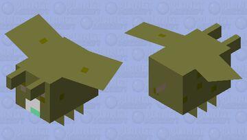 Contaminated bee Minecraft Mob Skin