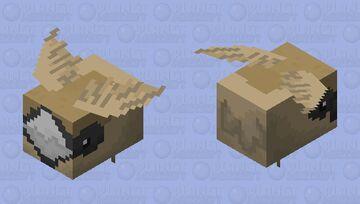 Sociable weaver Minecraft Mob Skin