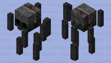 Ashy Blaze Minecraft Mob Skin