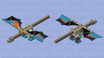 quetzalquatlus dopant Minecraft Mob Skin