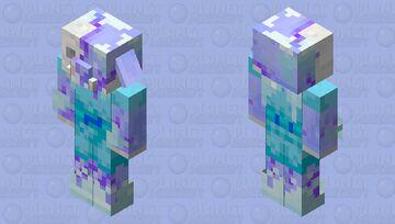 Frozen Zombified Piglin Minecraft Mob Skin
