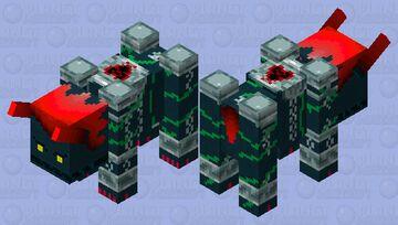 Ravager Heartless (Dark Thorn Kingdom Hearts 2) Minecraft Mob Skin