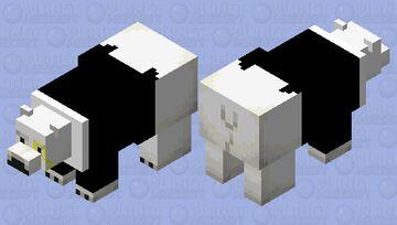 Fancy polar bear Minecraft Mob Skin