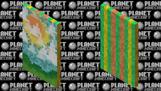 ☀ Sunny Spring Sky Cape ☀ Minecraft Skin