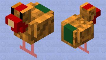 budget cut hen Minecraft Mob Skin