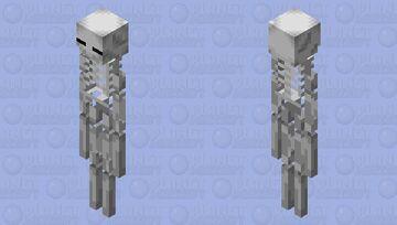 esqueleto de enderman Minecraft Mob Skin