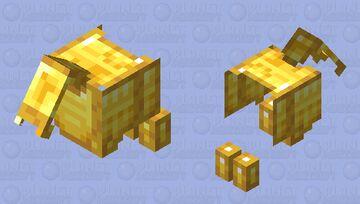 legendary golden goat armor Minecraft Mob Skin