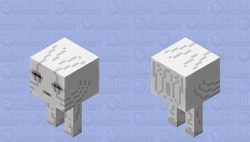 Baby Ghast (Strider) Minecraft Mob Skin