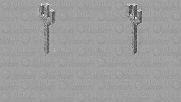 fork but oversized Minecraft Mob Skin
