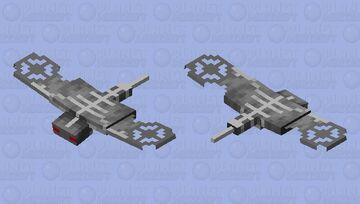 Mecha phantom Minecraft Mob Skin