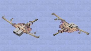 A phantoms skeleton Minecraft Mob Skin