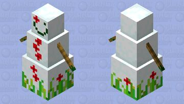 Nature Golem Minecraft Mob Skin