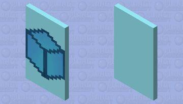 Cubecraft Games Cape| Blue Minecraft Mob Skin