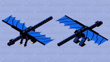 Dragon of the End Minecraft Mob Skin