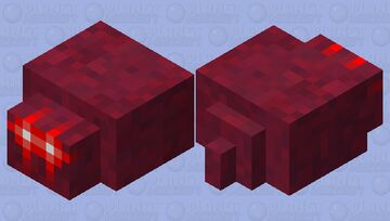 Meme style deep fried endermite (You're welcome, FishStacks) Minecraft Mob Skin