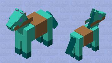 Seahorse Minecraft Mob Skin