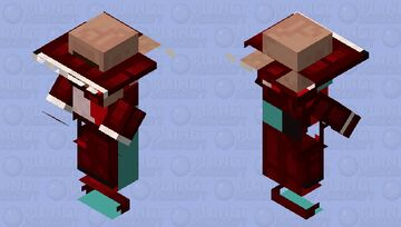 Villager In a Suit Minecraft Mob Skin