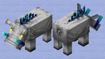 Ice Hog Minecraft Mob Skin