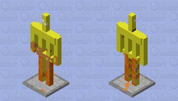 phoenix armor stand Minecraft Mob Skin
