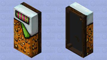Leoprint Bed Minecraft Mob Skin
