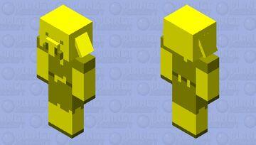 Golden Piglin (Java) Minecraft Mob Skin