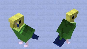 budgie/parakeet Minecraft Mob Skin