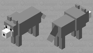 -~- Husky -~- Minecraft Mob Skin