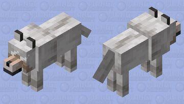 anime wollf Minecraft Mob Skin