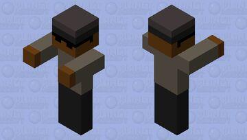 Coffin dance meme Minecraft Mob Skin