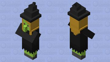 Megg The Witch Minecraft Mob Skin