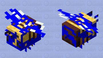BROKEN BEE Minecraft Mob Skin