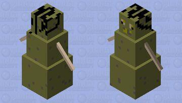 Contaminated snow golem Minecraft Mob Skin