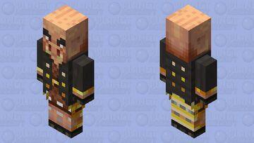 experiment #34 / Pigincator Minecraft Mob Skin