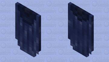 Rugged Blue Cloak Minecraft Mob Skin